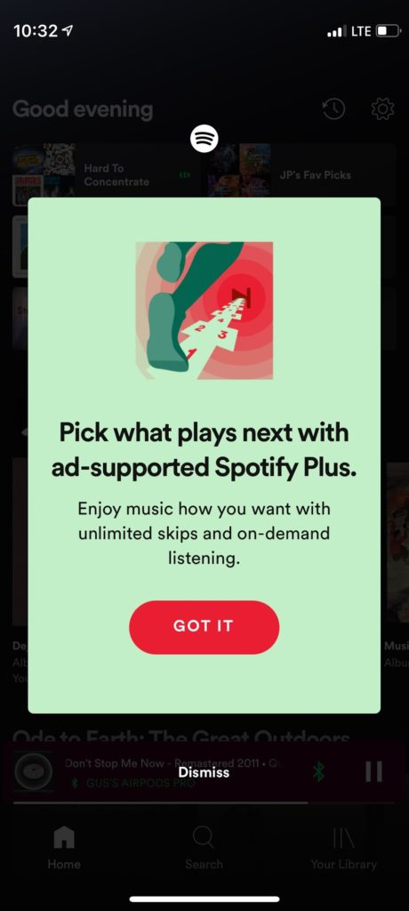 Spotify is testing subscription tier